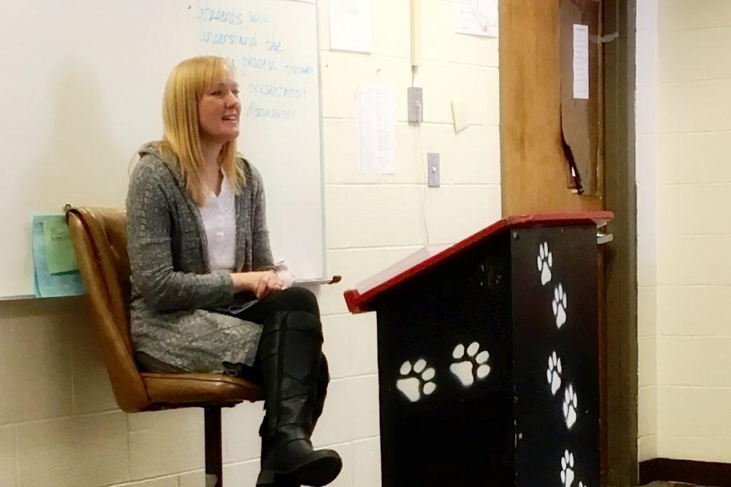 Author Rebecca Bischoff Visits School
